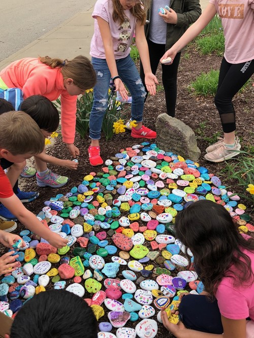 Kindness Rocks are ready to spread the love! - Goshen
