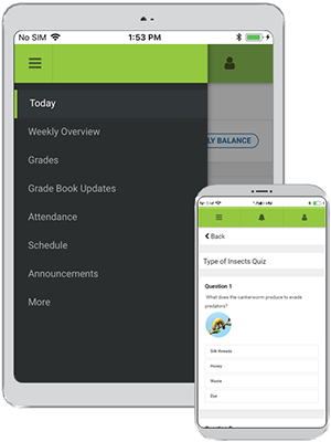 Devices with Infinite Campus Mobile App