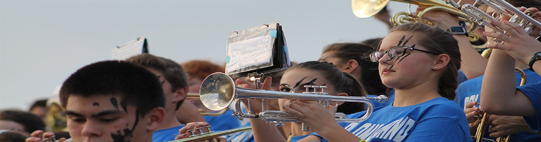 Photo of Band Students