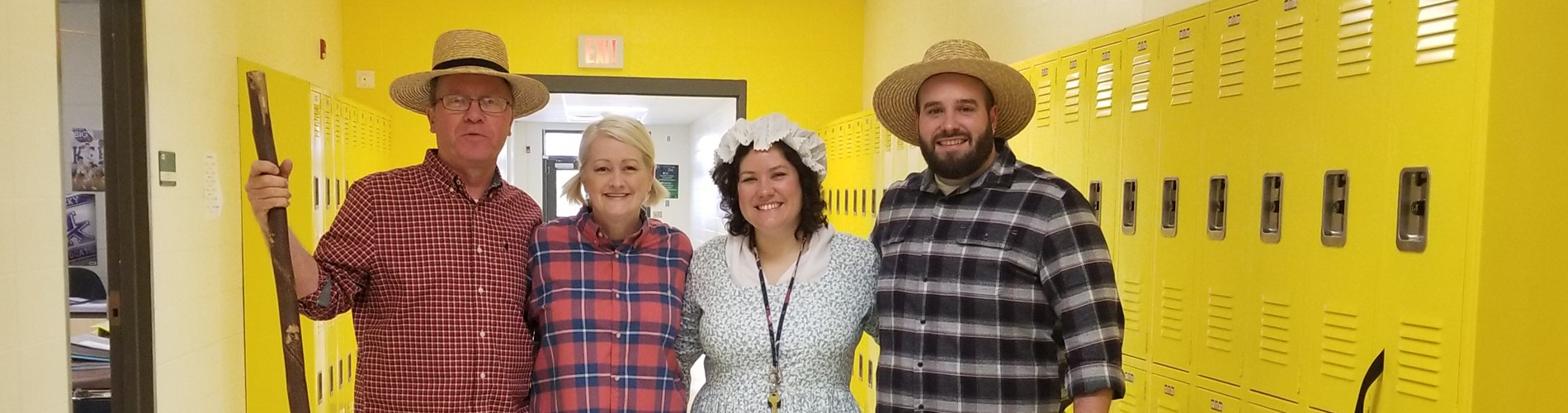 8th Grade Fun! Mr. Adkisson, Mrs. Holbrook, Mrs. Davis, Mr. Sams