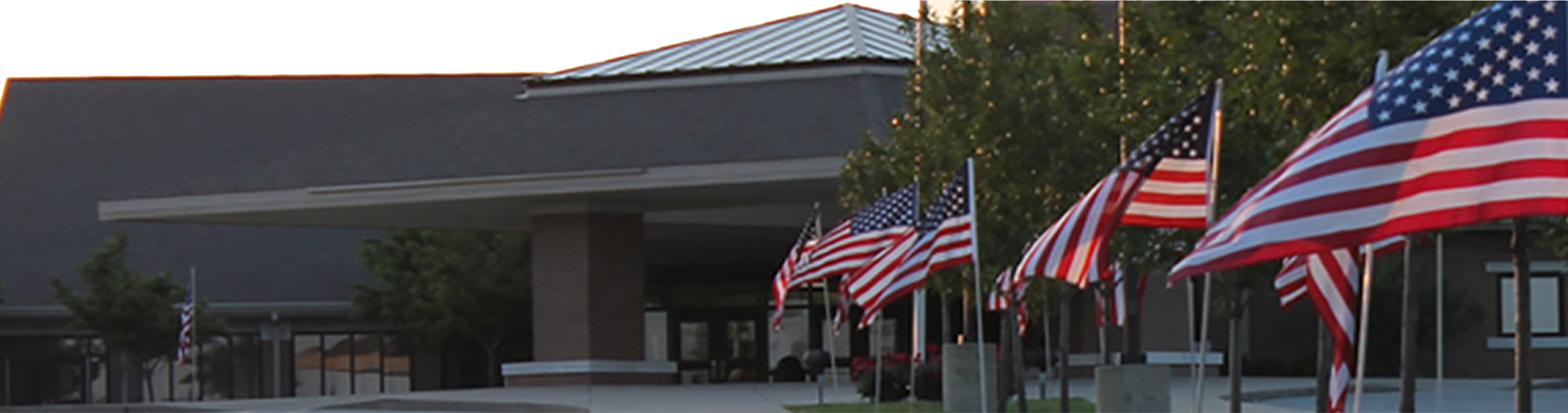 East Oldham Middle School - Front Entrance