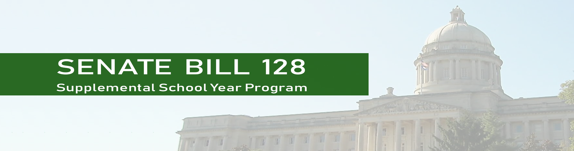 Senate Bill 128:  Supplemental School Year Program